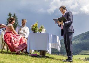 Freie/Alternative Trauung - Christian G. Binder - Hochzeit in den Bergen
