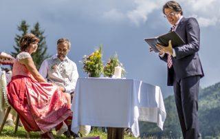 Freie Trauung Christian G. Binder - Antonia & Franz auf der Stögeralm