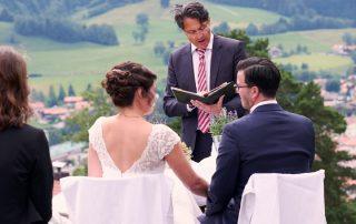 Freie Trauung Christian G. Binder - Esther und Patricio