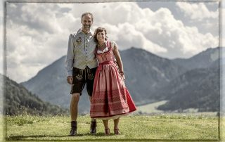 Freie Trauung Christian G. Binder - Anonia und Franz auf der Stögeralm