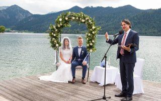 Freie Trauung Christian G. Binder - Sarah und Daniel